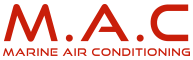 M.A.C Marine Air Conditioning Logo